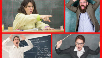 Photo of 10 choses bizarres que les profs disent à voix haute
