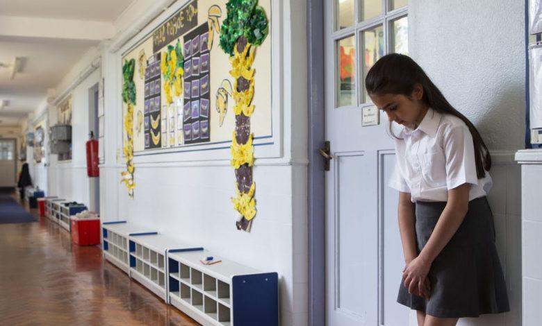 punition des élèves