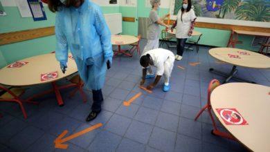 reouverture des ecoles Nice France
